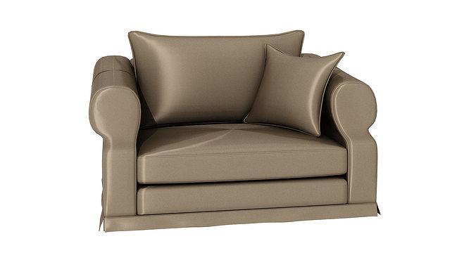 Etonnant One Person Sofa 239 3D Model