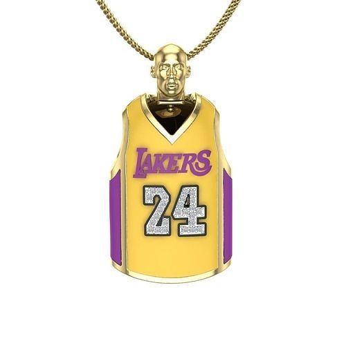 Kobe Bryant Jersey   3D Print Model