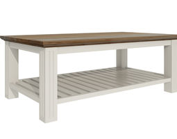 Small wooden table188 3D