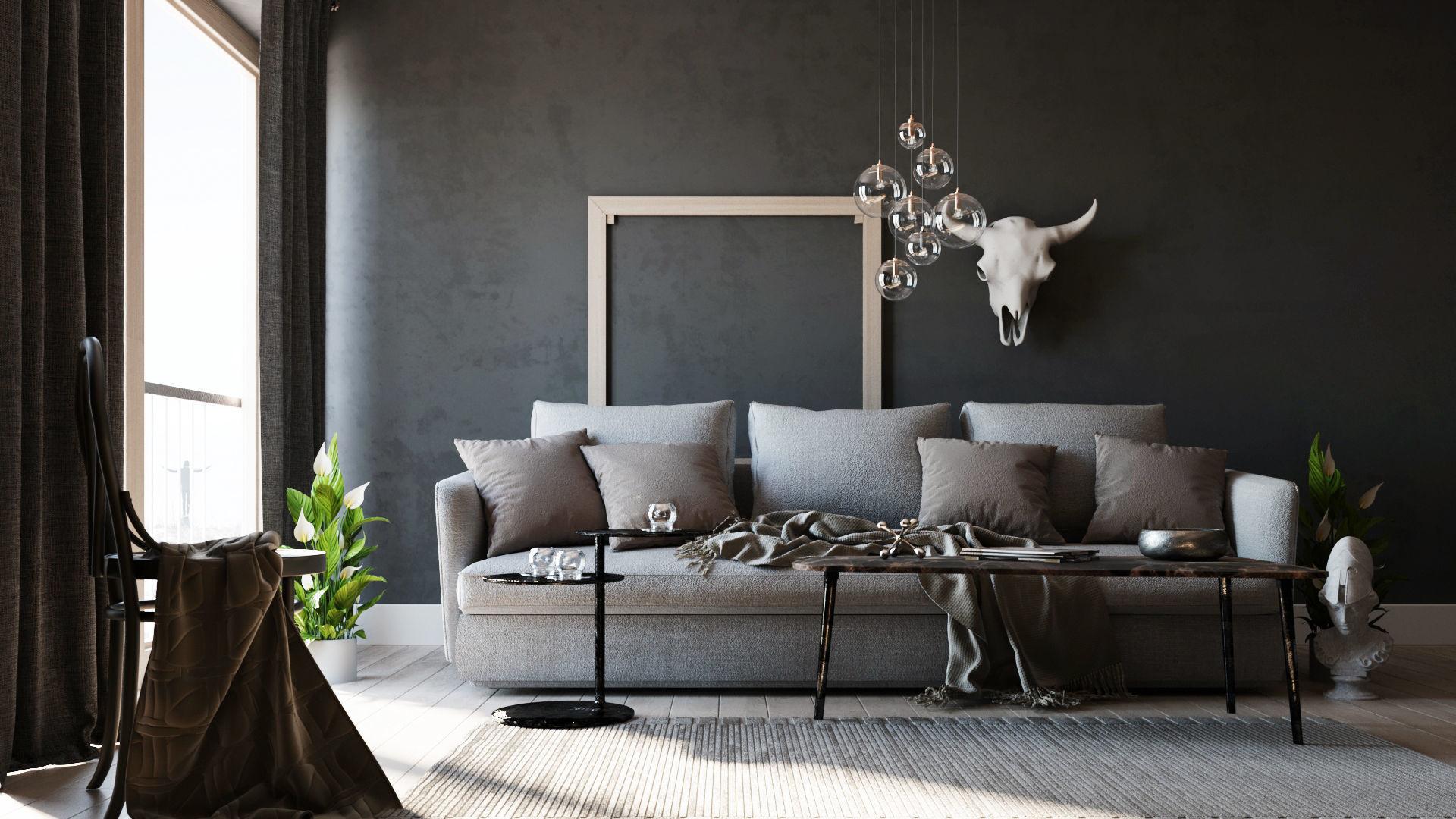 Simple Interior Scene - Corona - Redshift