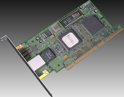 pc network card 3d