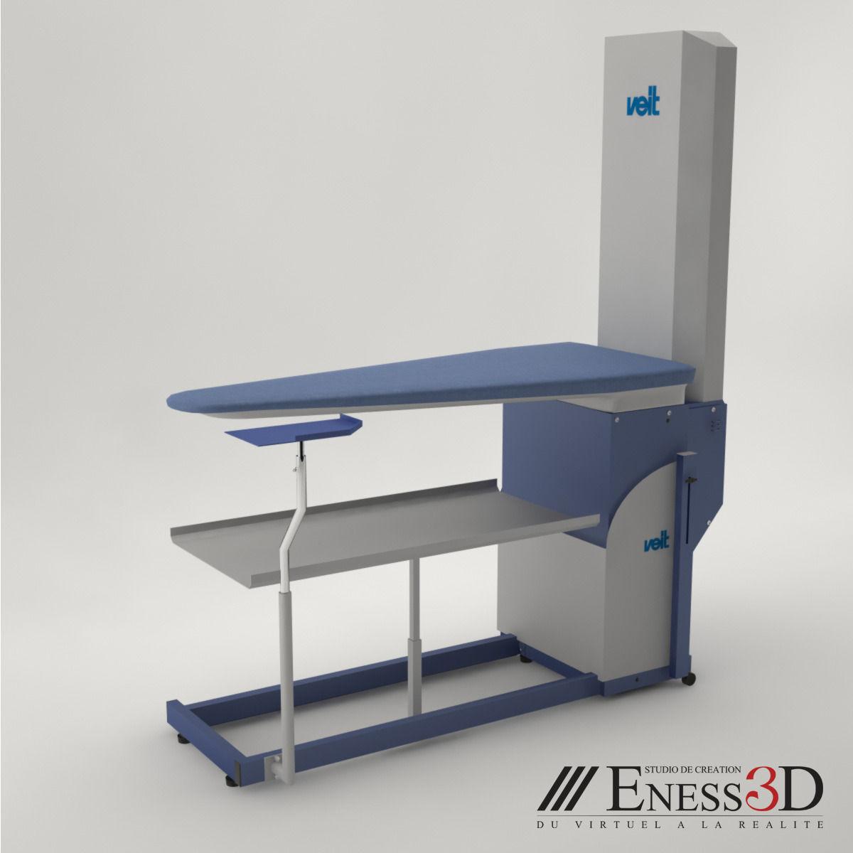 ironing board furniture. Pro - Veit Varioset Cr2 S-b Ironing Board 3d Model Max Obj Fbx 1 Furniture