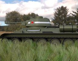 3D model T34 76 Tank HDRI