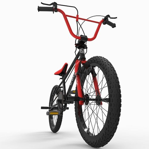 bicycle 3d model fbx ma mb 1