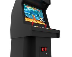 Arcade Machine 3D model realtime