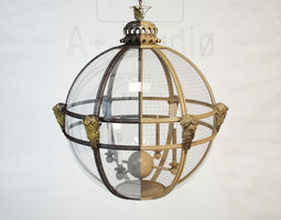 JAMB Mask Globe Lantern 3D model