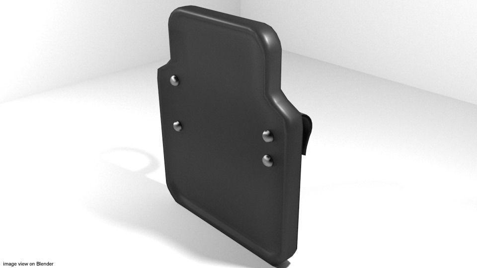 Personal Armor Shield - Small Ballistic Shield