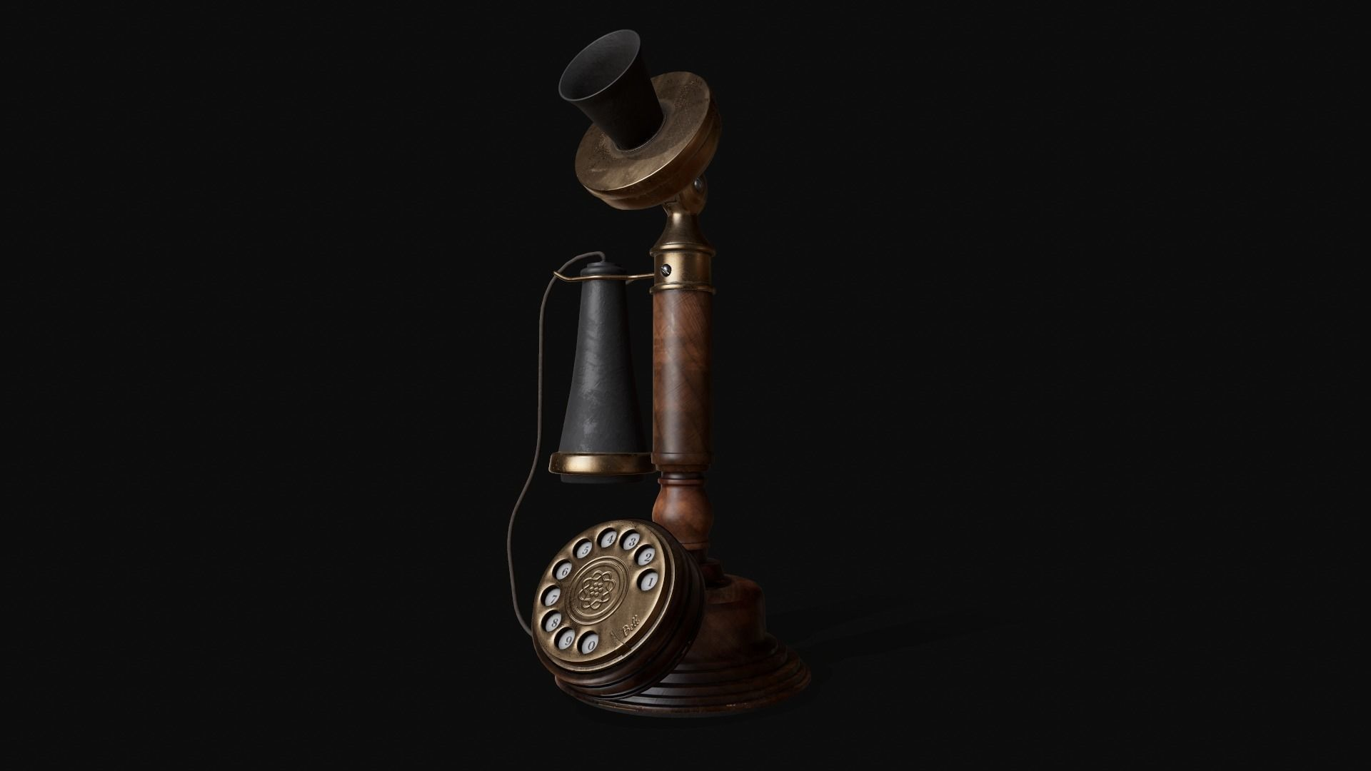 Old Candlestick Phone