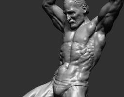 dynamic figure printable 3d model stl
