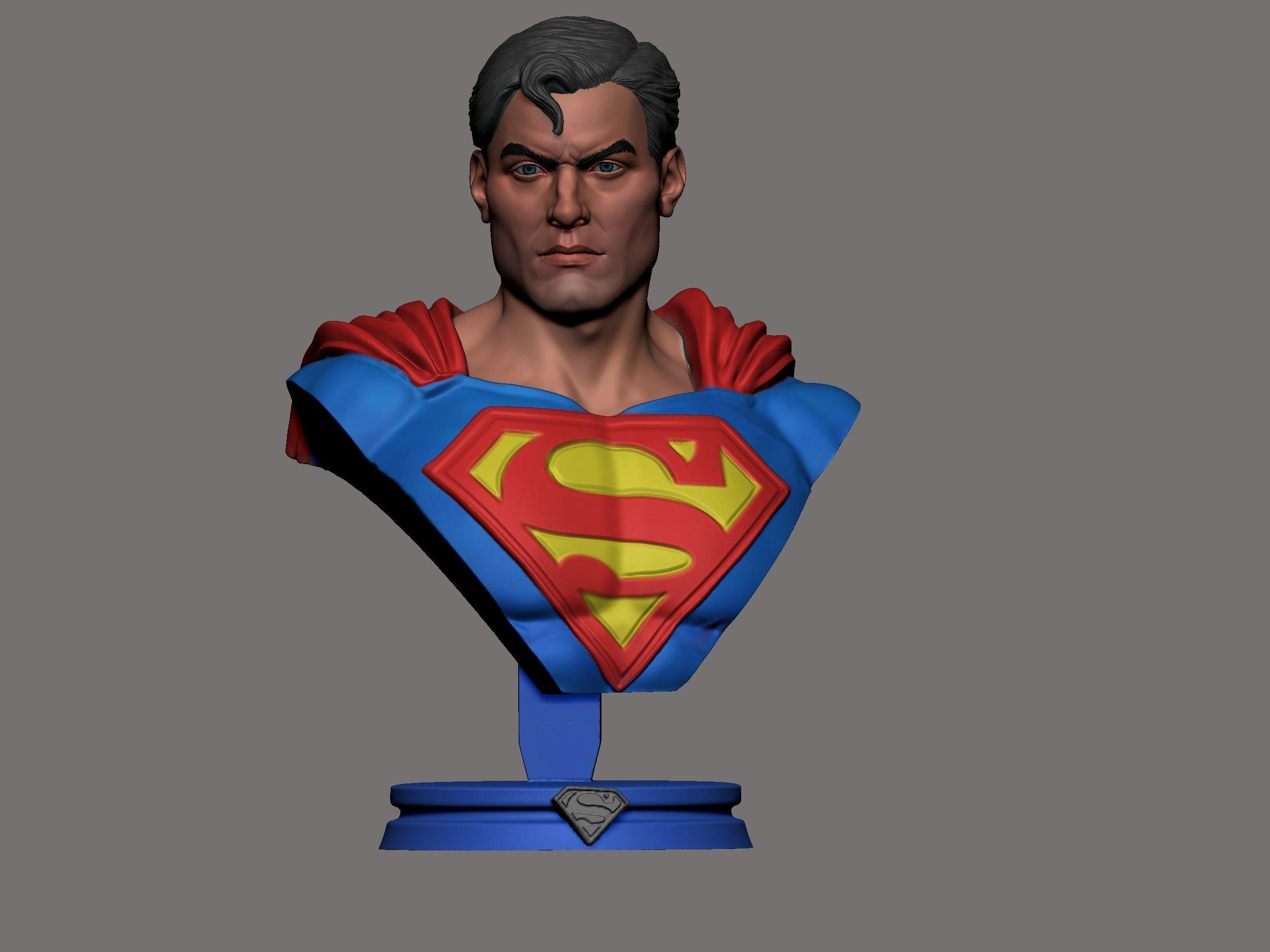 super man busto