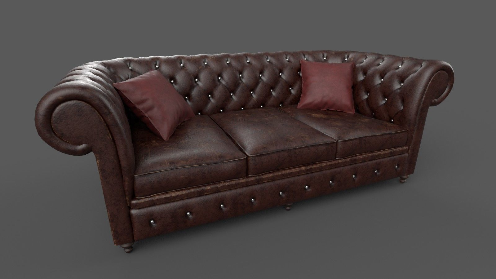 Chesterfield Sofa - 6 versions