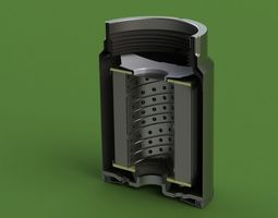 3d mann pl270 disel fuel filter