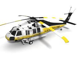 S-70A Firehawk 3D Model
