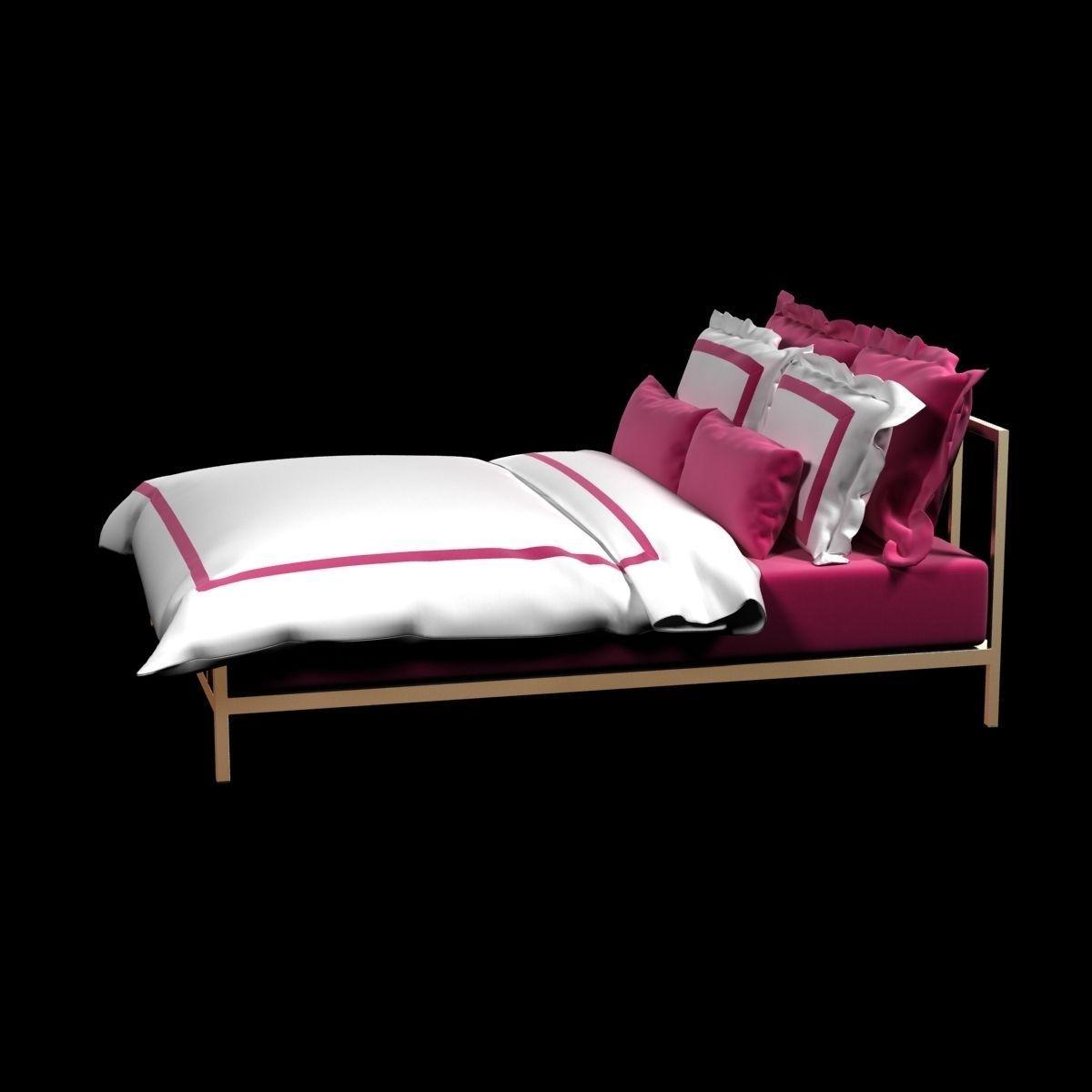 Hotel Collection Duvet Cover Set By La Cozi 3d Model Max Obj Mtl 3ds