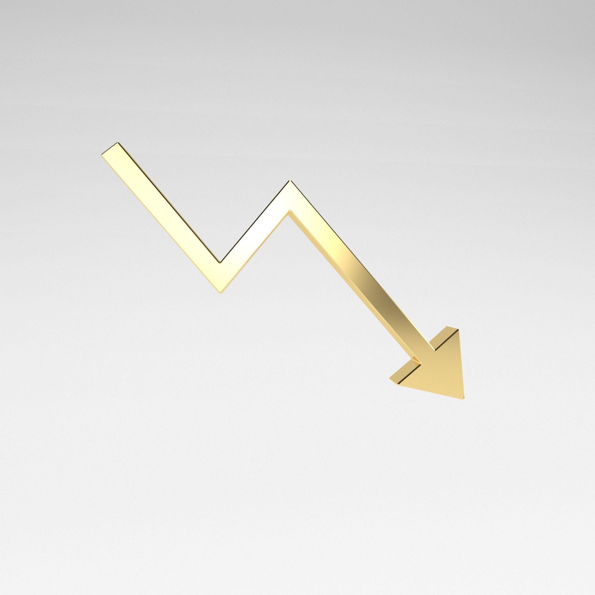 Stock Down Symbol v2 003