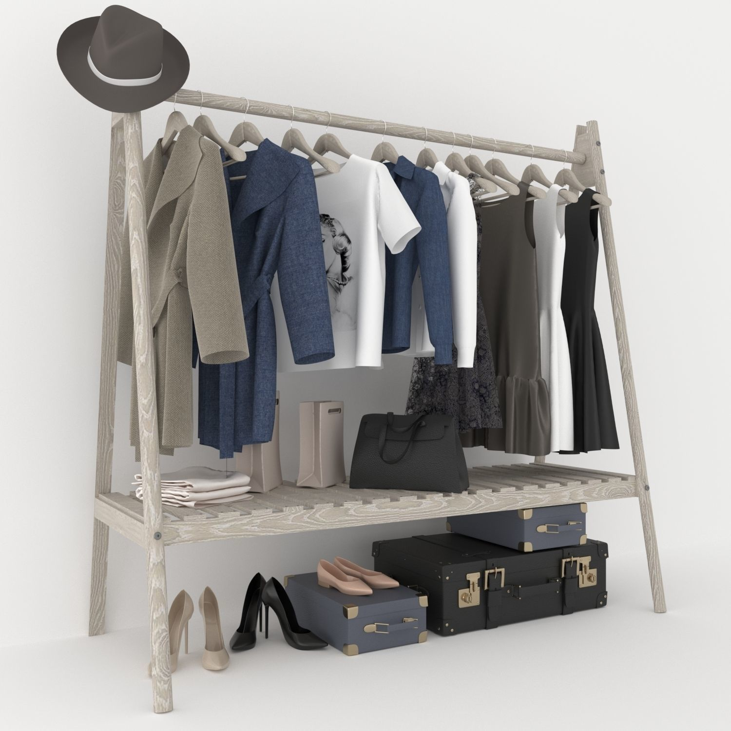 Clothing rack I