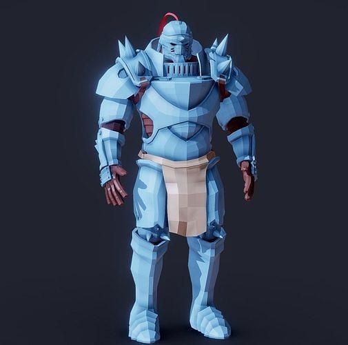 Fullmetal Alchemist Alphonse Elric Magic Armor FanArt
