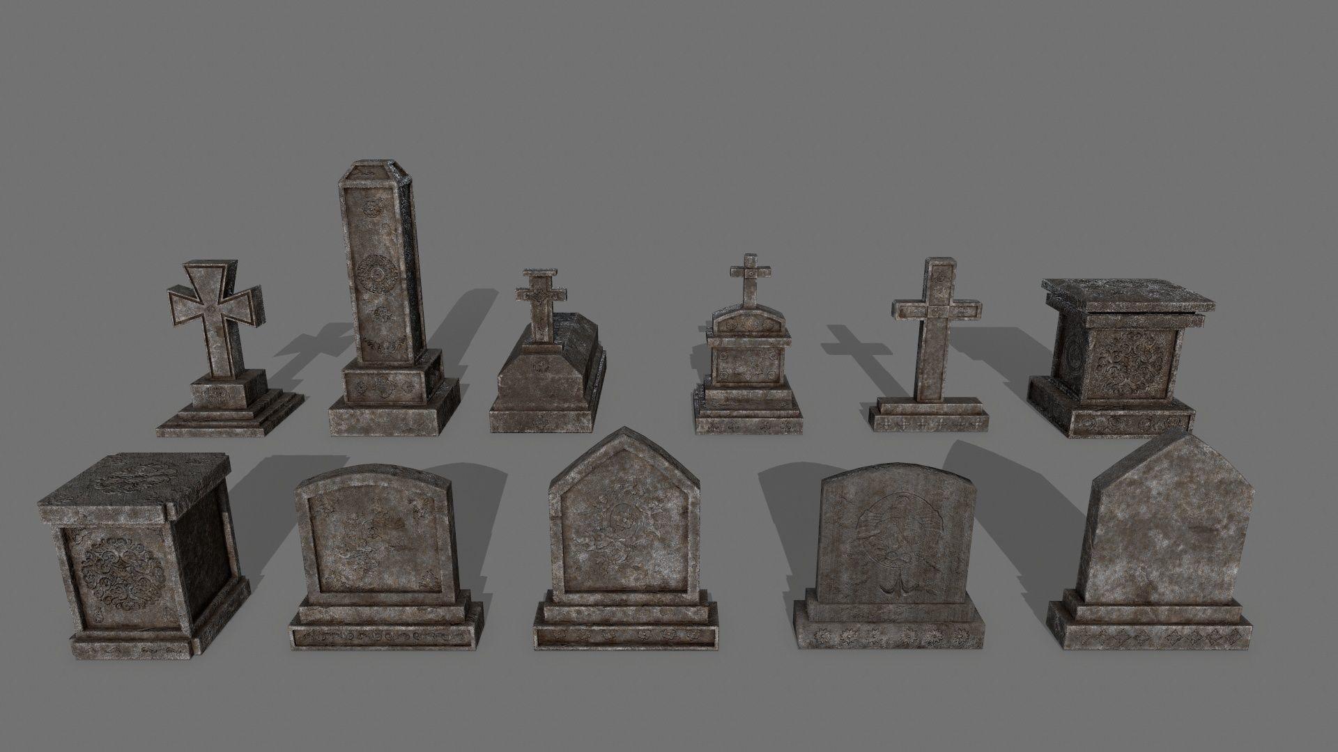 Tombstone set 1