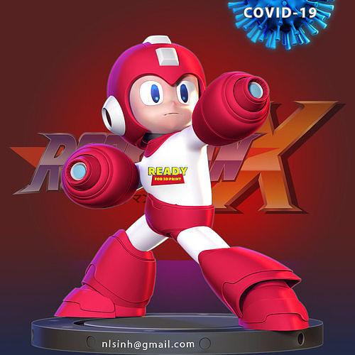 Megaman vs Covid - 19