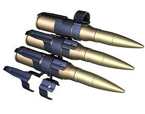 3D model Ammunition Belt belts