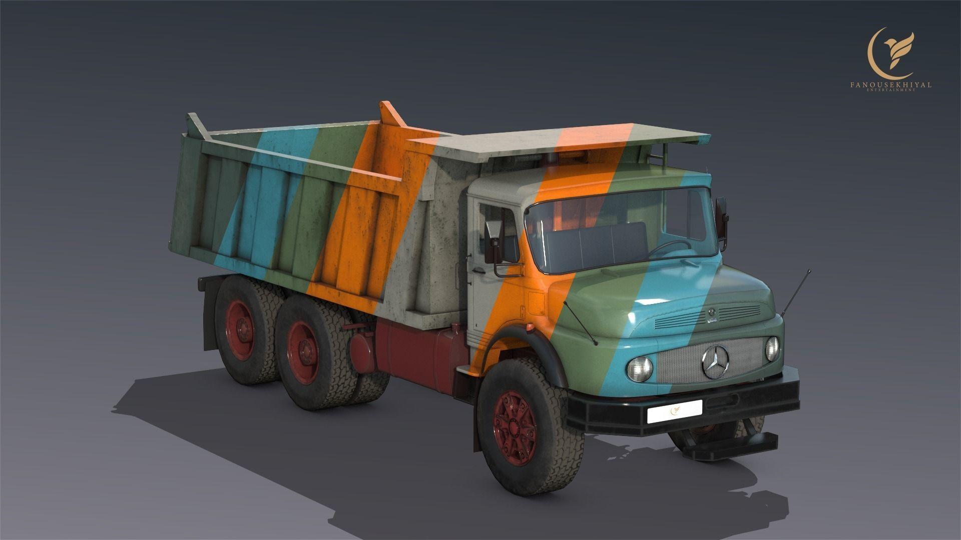 Mercedes L2624  Dumper truck