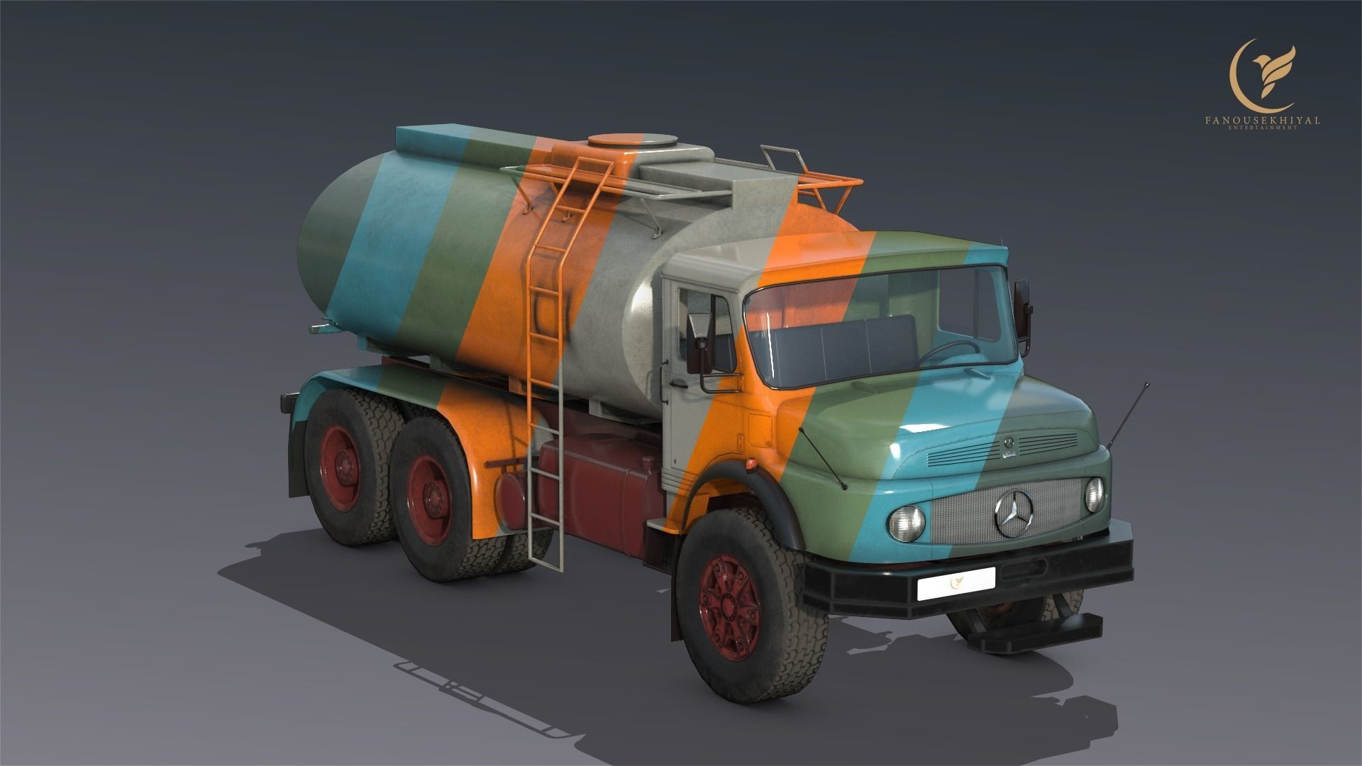 Mercedes L2624  Tanker truck