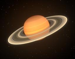 3D solar Saturn