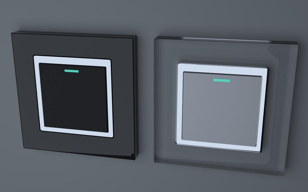 Retrotouch RTS2005 Mechanical Light Switch 1 Gang 3D model MAX OBJ MTL