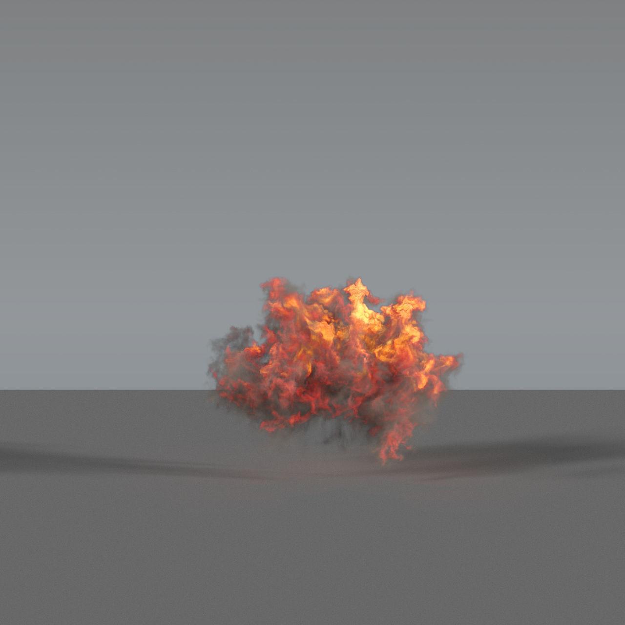 Fire Explosion 04 - VDB