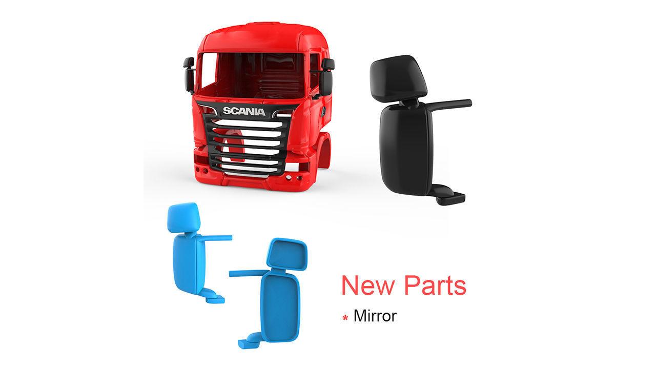 Scania R730 V8 Cabin - New Part - Mirror