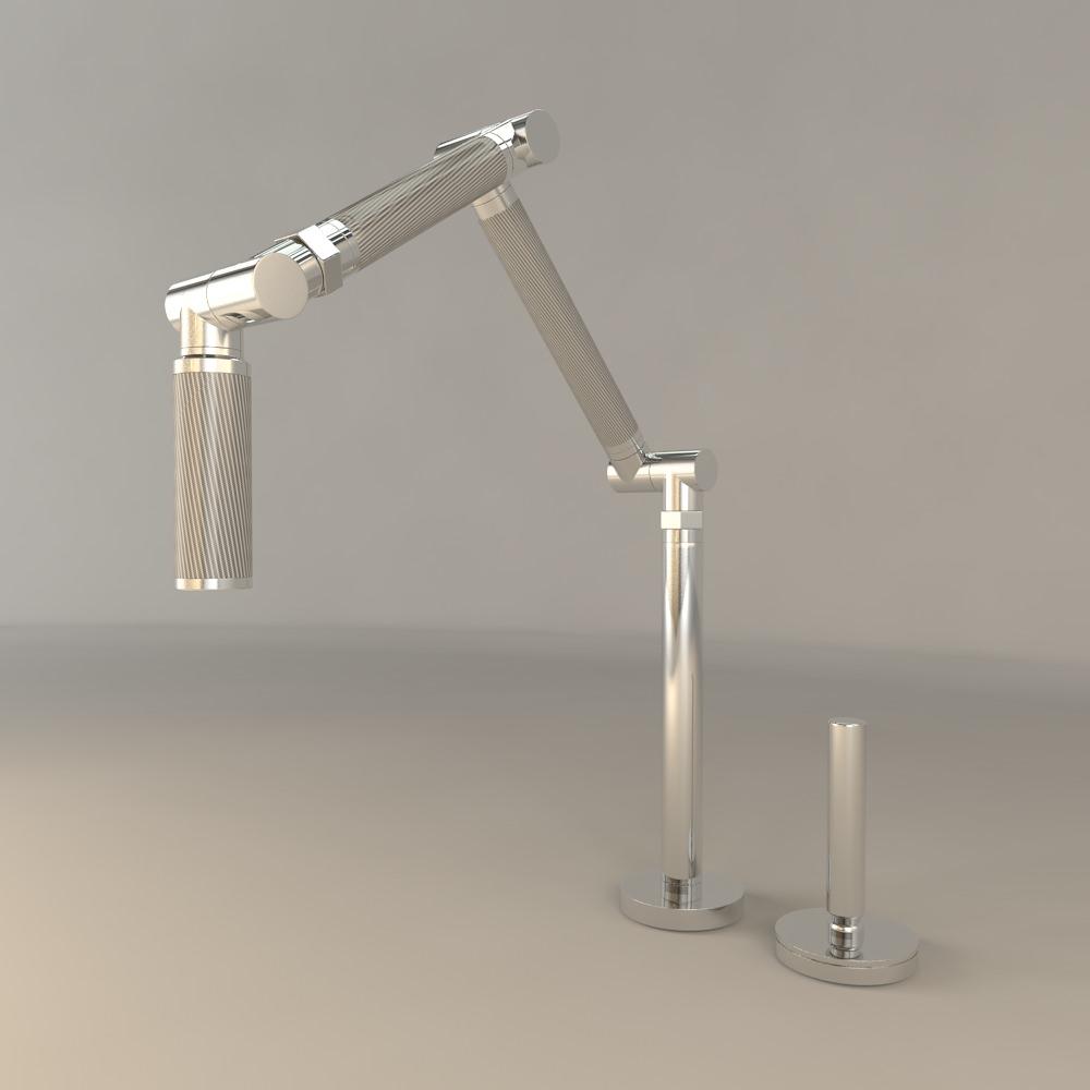 Kohler Karbon Kitchen Sink Faucet Model Max Obj Mtl Fbx 1