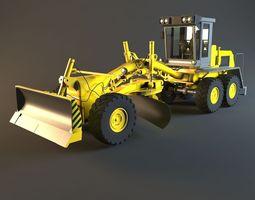3d tractor machine