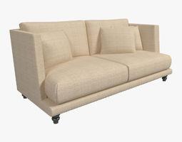 Nube Italia Remind Two Seated Sofa 3D Model
