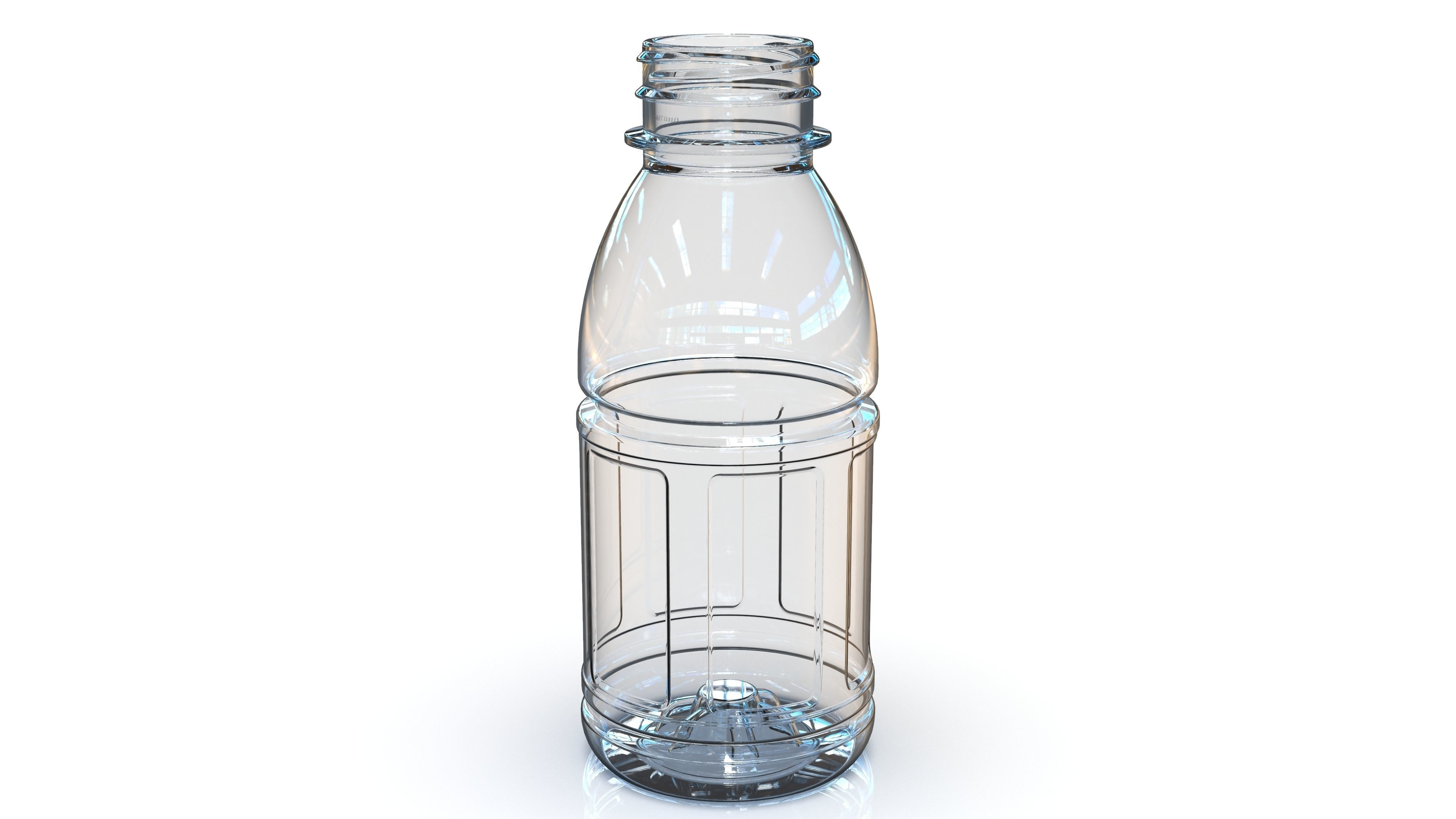 PET Bottle PCF - 38P - 1 - Panel 330 mL - for water - drinks
