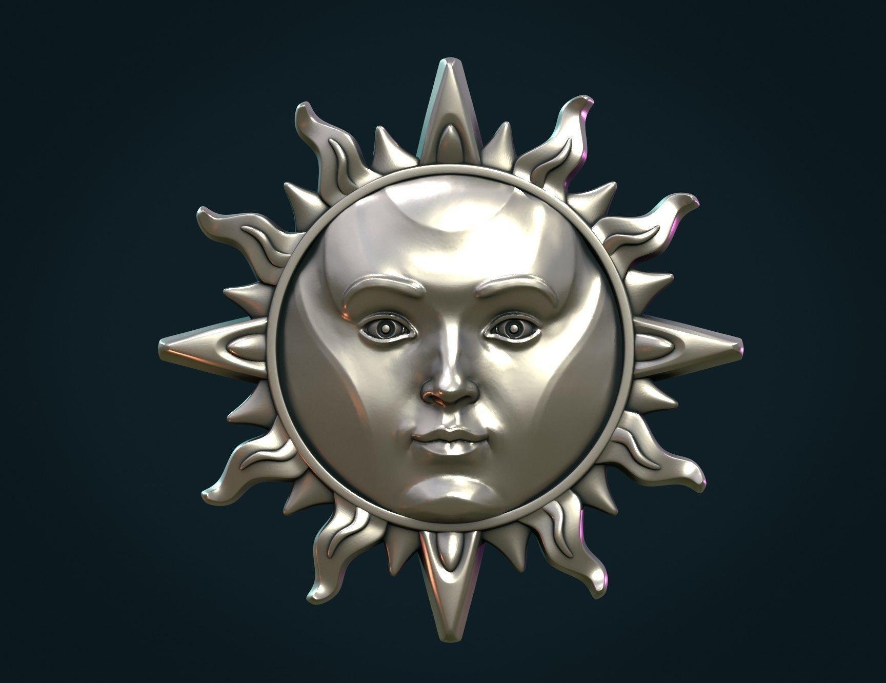 Sun Pendant II