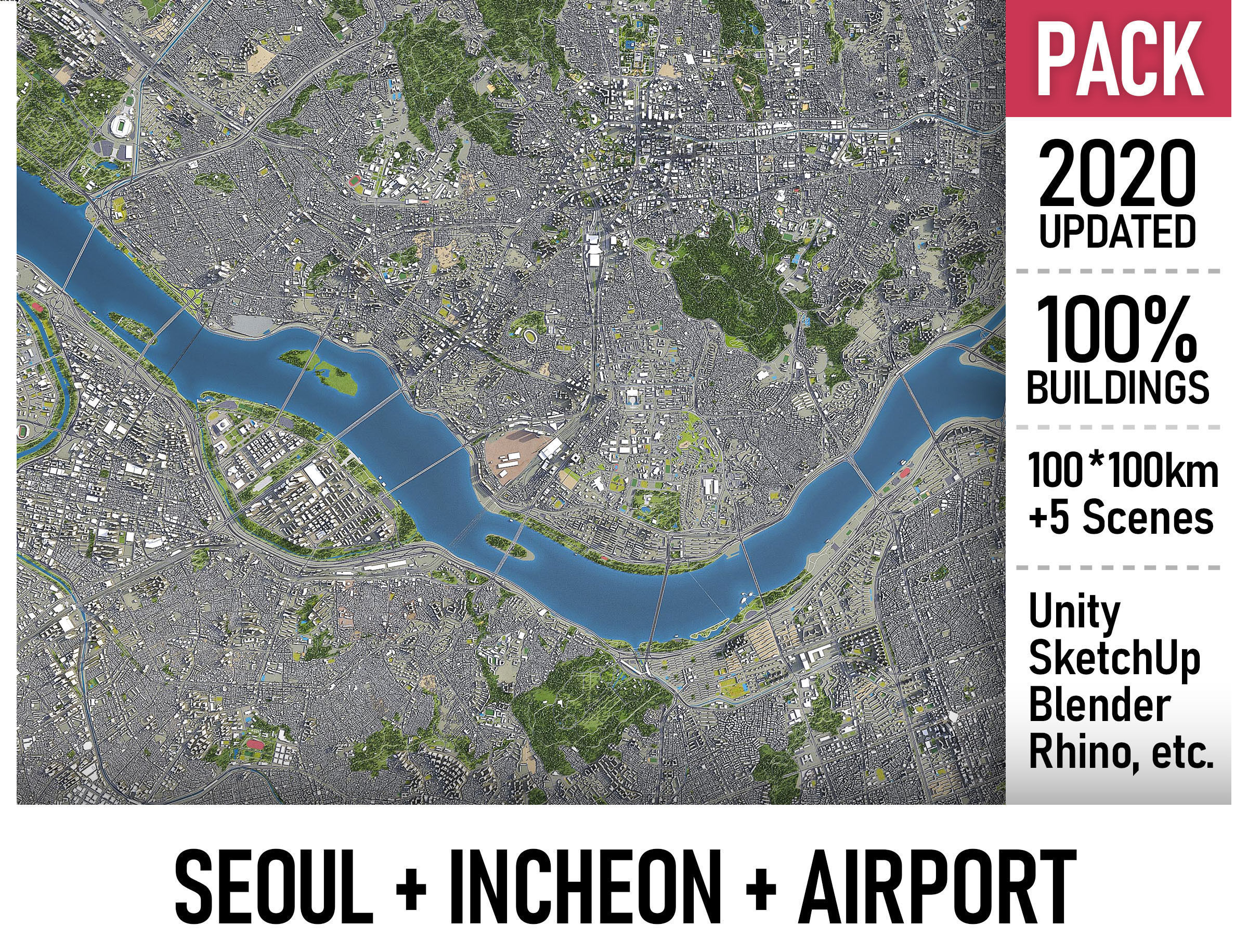 Seoul - Incheon - ICN Airport - Metropolitan Area