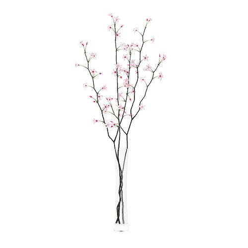 Flowering Tree Twigs In Glass Vase 3d Cgtrader