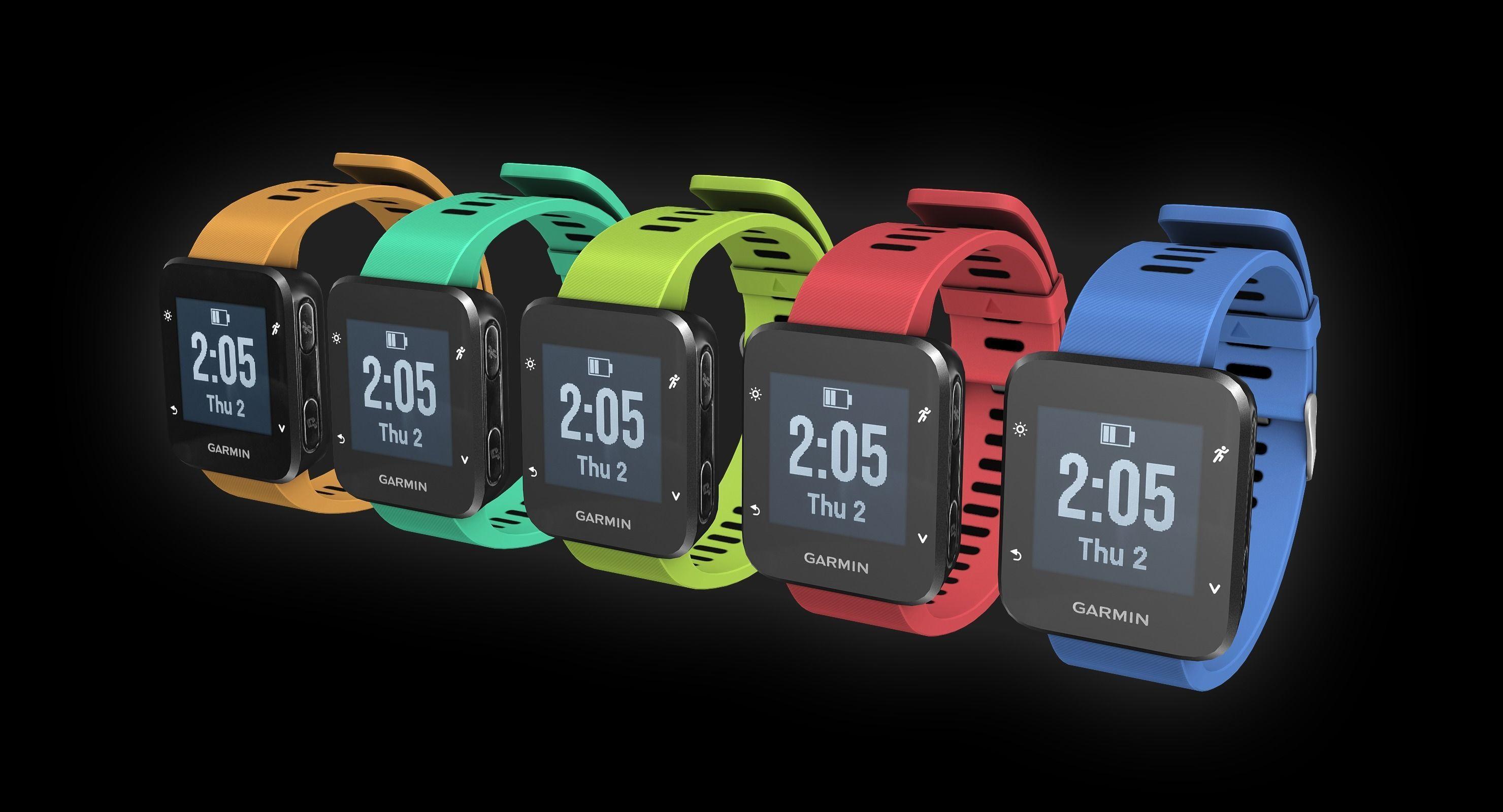 Garmin running watch