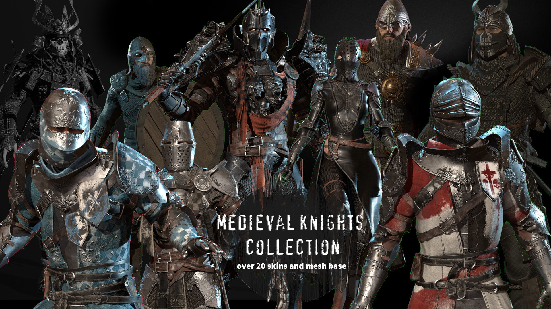 medieval knights collection