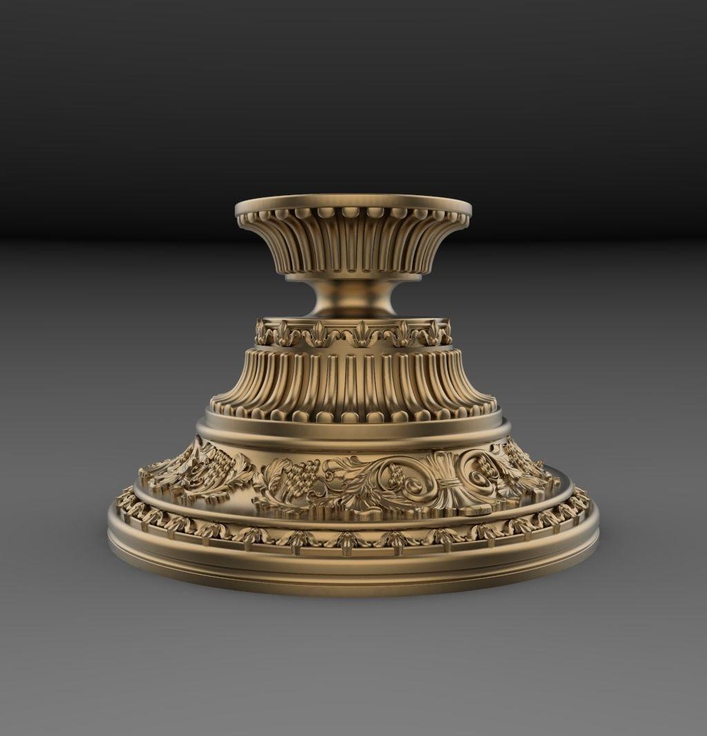 Pedestal for statue