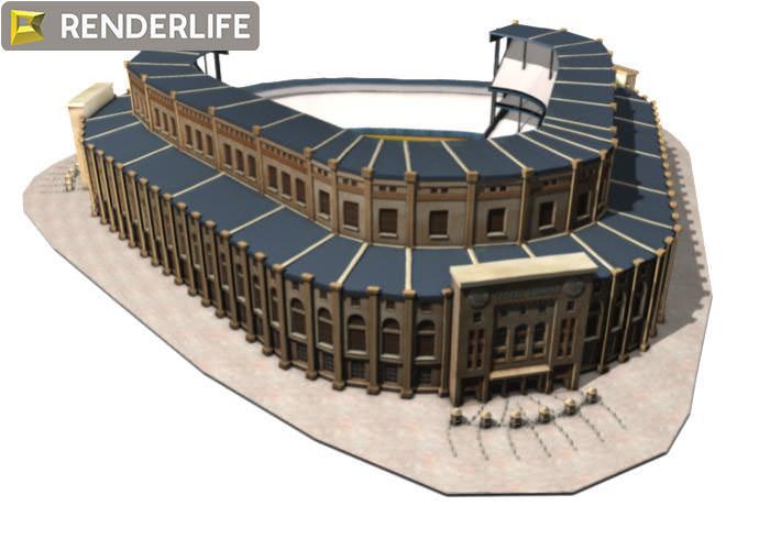 Yankee stadium exterior