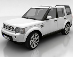 Land Rover Discovery 4 3D Model