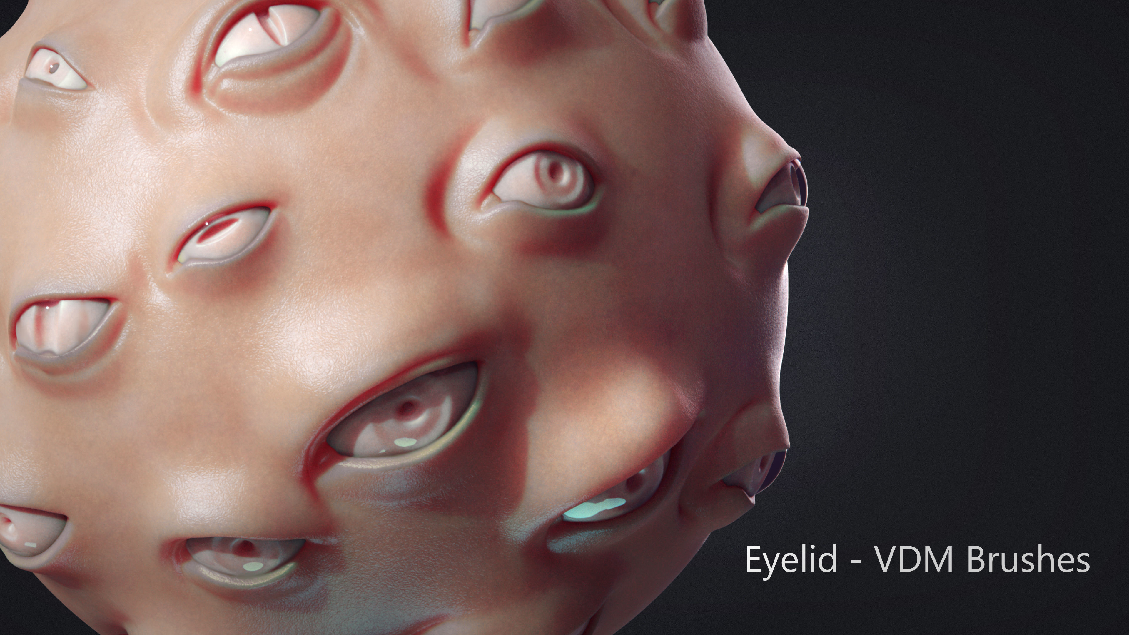 Zbrush - Eyes - VDM and IMM Brushes