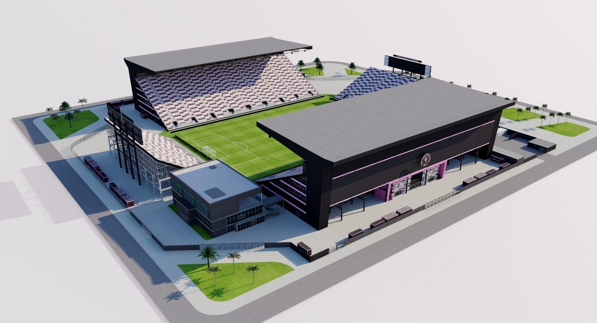 New Lockhart Stadium - Inter Miami CF USA