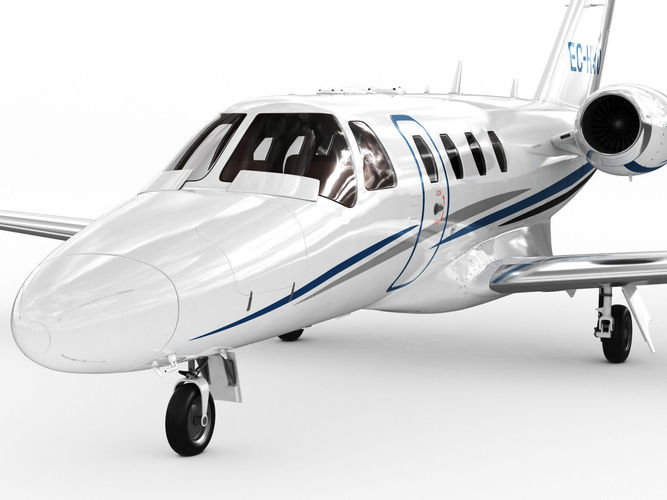 How To Apply Brain Science Of >> Cessna 525 CJ1 plus Citation Jet 3D Model MAX OBJ 3DS FBX C4D LWO LW LWS - CGTrader.com