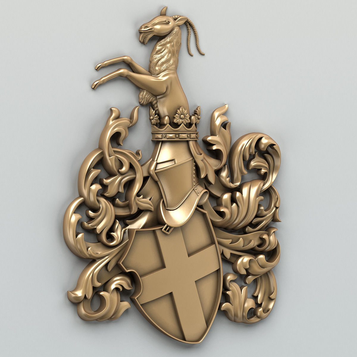 Coat of arms decorative 001