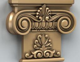 3D model Column Capital 007
