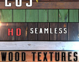 265 Wood Textures Pack HD 3D