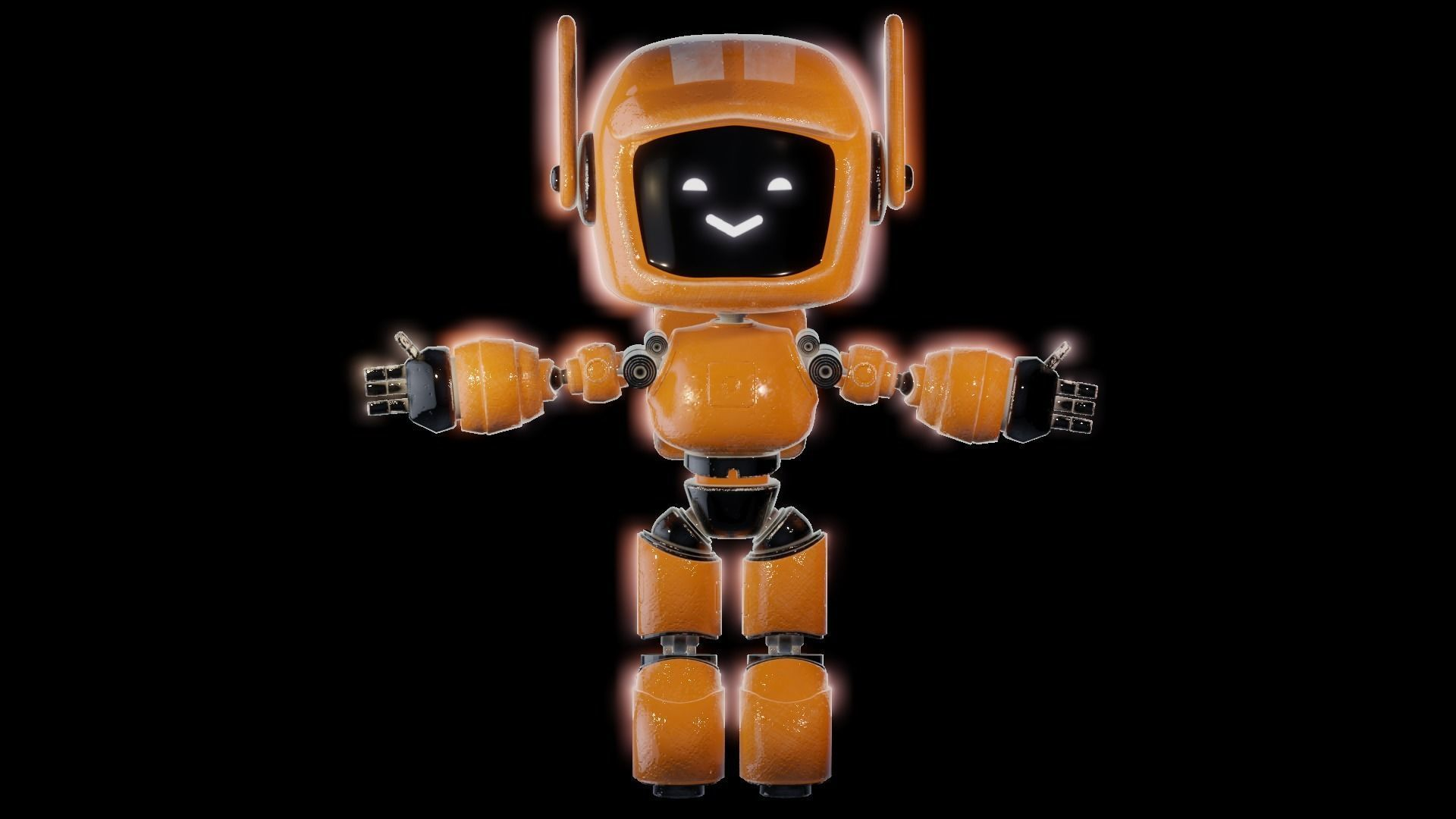 ORANGE ROBOT from LOVE DEATH AND ROBOTS