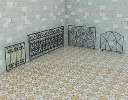 Railing Art Max 2011 3D model